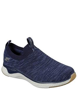 Skechers Skechers Solar Fuse Trainers - Navy Picture