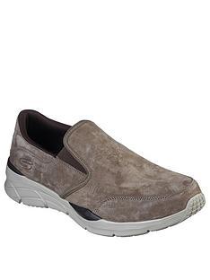 skechers-equaliser-40-slip-on-shoes-brown