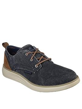 Skechers Skechers Status 2.0 Lace Up Shoes - Navy Picture