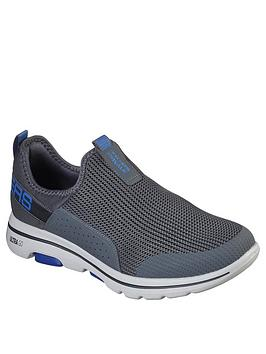 Skechers Skechers Gowalk 5&Trade; Slip On Shoe With Tab - Charcoal Picture