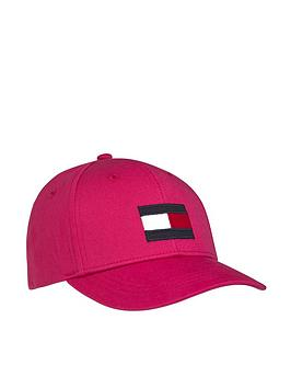 Tommy Hilfiger Tommy Hilfiger Girls Large Flag Cap - Pink Picture