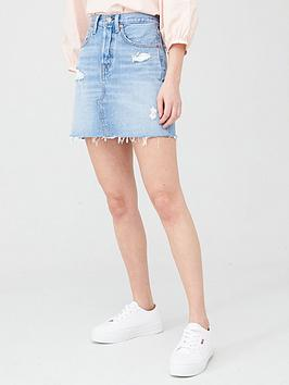 Levi's Levi'S Deconstructed Iconic Boyfriend Skirt Picture