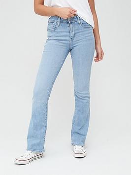 Levi's Levi'S 725 High Rise Bootcut Jeans - Light Wash Picture