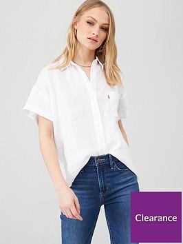 levis-the-short-sleeve-alexandra-shirt-white