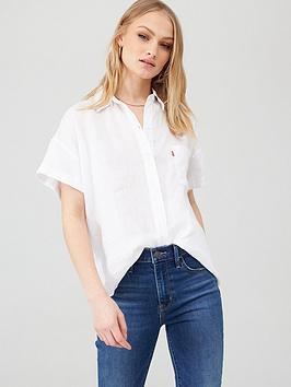 Levi's Levi'S The Short Sleeve Alexandra Shirt - White Picture