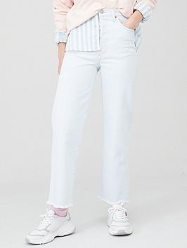 Levi's Levi'S Ribcage Straight Ankle Jean - Light Wash Picture