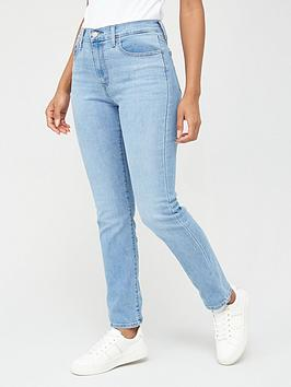 Levi's Levi'S 724 High Rise Straight Jeans - Denim Picture