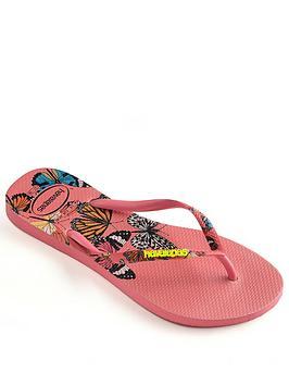 Havaianas Havaianas Slim Sensation Flip Flop Sandal - Pink Picture