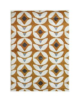 Very Scandi Floral Rug Picture