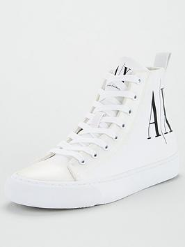 Armani Exchange Armani Exchange Logo Pump - White Picture