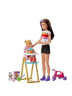 barbie-skipper-babysitternbspfeeding-time-playset