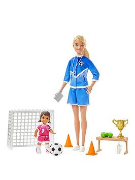 Barbie Barbie Football Coach Playset Picture