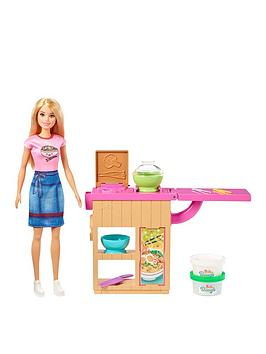 Barbie Barbie Noodle Maker Bar Playset With Doll Picture