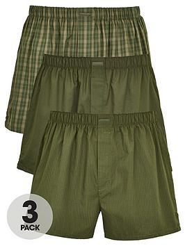 calvin-klein-3-pack-woven-boxer-short-khaki