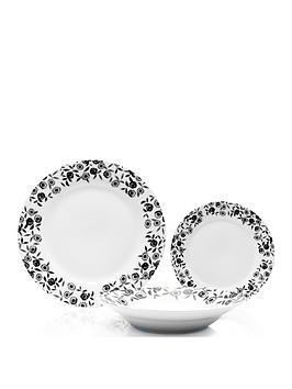 sabichi-black-bramble-12-piece-dinner-set