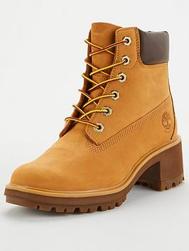 "Timberland Timberland Kinsley 6"" Block Heel Boot - Wheat Picture"