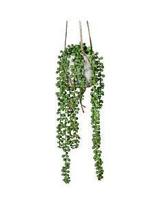 gisela-graham-artificial-plant-in-hanging-planter