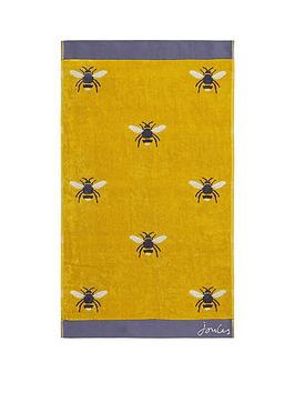 Joules Joules Botanical Bee Towels Beach Picture