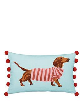 Joules Joules Falmouth Dogs Cushion Picture