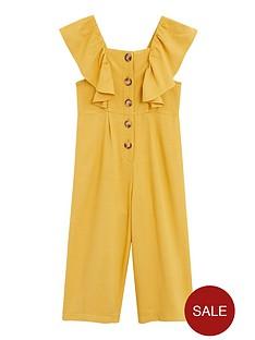 mango-girls-ruffle-button-front-jumpsuit-yellow