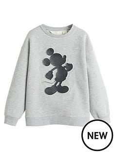 mango-girls-embossed-sweatshirt-grey