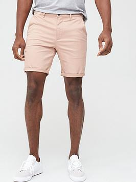 River Island River Island Sid Skinny Shorts - Pink Picture