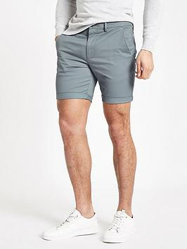 River Island River Island River Island Vienna Skinny Fit Chino Shorts Picture