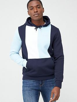 River Island River Island Blocked Maison Hoodie - Blue Picture