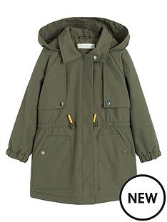 mango-girls-waterproof-hooded-parka-coat-khaki