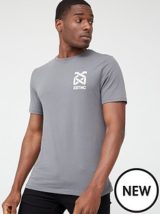 river-island-grey-xstnc-short-sleeve-slim-fit-t-shirt