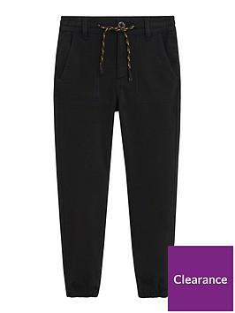mango-boys-woven-jog-pants-black