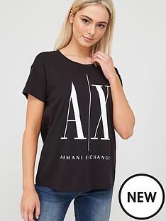 armani-exchange-original-logo-t-shirt-black