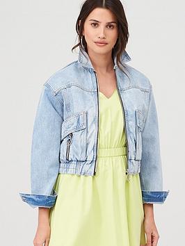 armani-exchange-blouson-zip-denim-jacket-light-wash