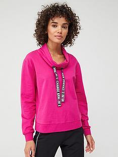 armani-exchange-funnel-neck-sweatshirt-pink