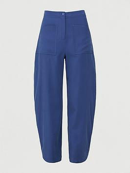 Armani Exchange Armani Exchange Loose Fit Trouser - Blue Picture