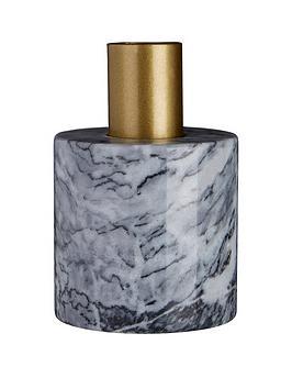 Premier Housewares Premier Housewares Lamonte Grey Marble Candle Holder Picture