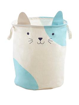 Premier Housewares Premier Housewares Mimo Cat Face Storage Bag Picture