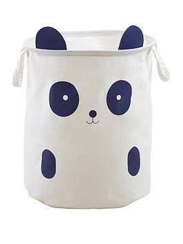 Premier Housewares Premier Housewares Mimo Panda Face Storage Bag Picture