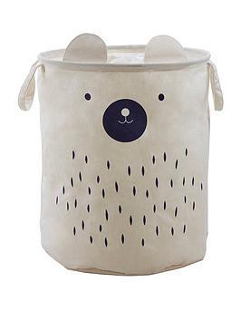 Premier Housewares Premier Housewares Mimo Bear Face Storage Bag Picture
