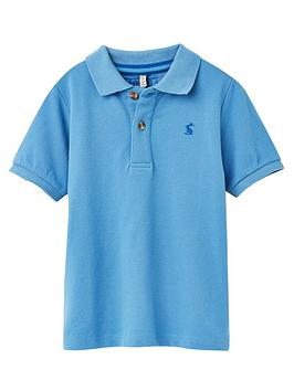 Joules Joules Boys Woody Short Sleeve Polo - Blue Picture