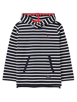 Joules Joules Boys Astbury Striped Hoodie - Navy Picture