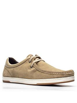 Base London Base London Dougie Lace Up Shoe - Taupe Picture