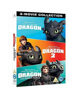 Very  How To Train Your Dragon 1 To 3 Dvd