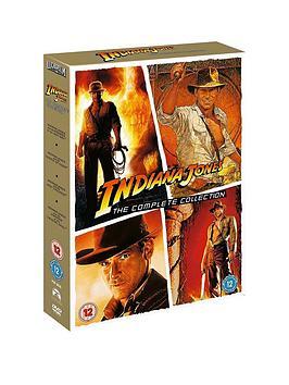 Very  Indiana Jones Quadrilogy Dvd