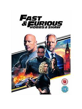 Very  Hobbs & Shaw Dvd