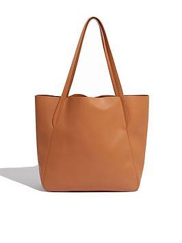 oasis-cladia-oversized-tote-bag-tan