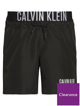 calvin-klein-boys-logo-waistband-swim-shorts-black