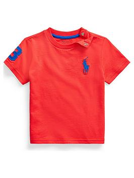 Ralph Lauren Ralph Lauren Baby Boys Short Sleeve Big Pony T-Shirt Picture