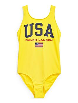 ralph-lauren-girls-polo-sport-swimsuit-yellow