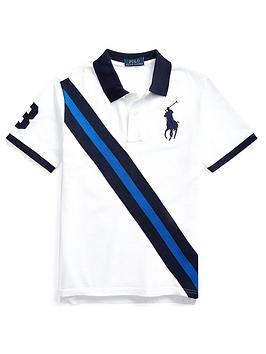 Ralph Lauren Ralph Lauren Boys Short Sleeve Big Pony Polo Top - White Picture